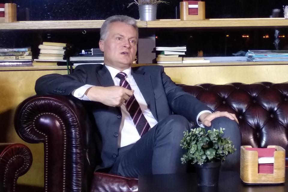 """Gitanas Nausėda: """"Giliavandenio uosto nereikia"""""""