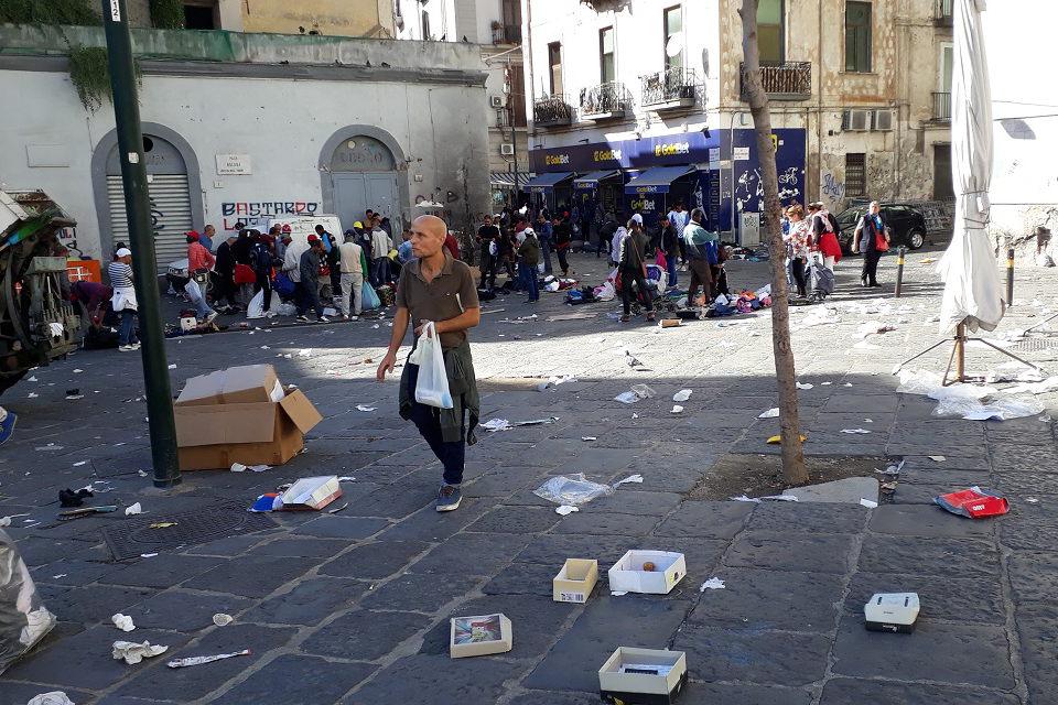 (Ne) turistiniai įspūdžiai iš Neapolio