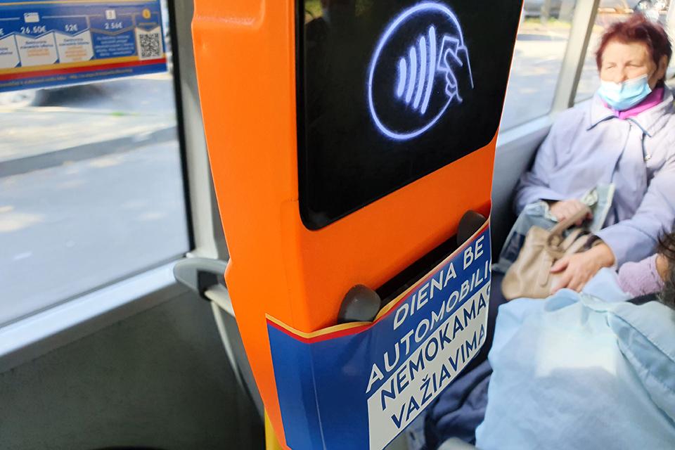 Antradienį – nemokamos kelionės autobusais