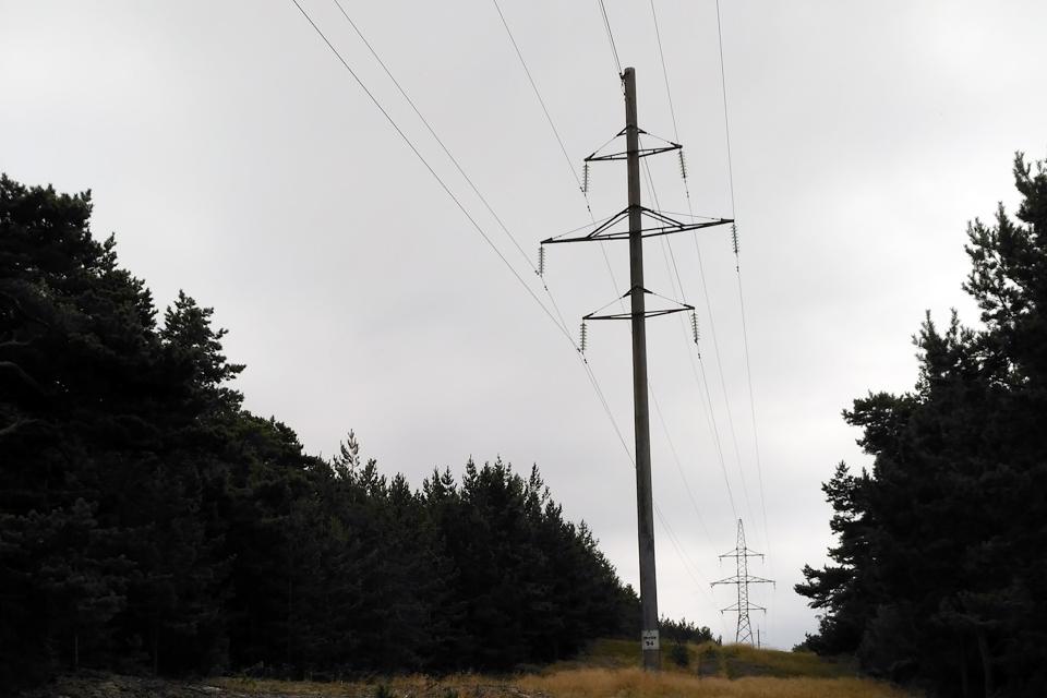 Neringai elektrą grąžino anksčiau