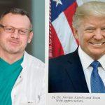 Asmeninė Donaldo Trumpo padėka – klaipėdiečiui chirurgui Nerijui Kaseliui