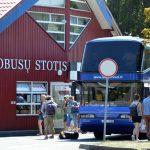 Keičiasi autobuso Nida - Smiltynė tvarkaraštis