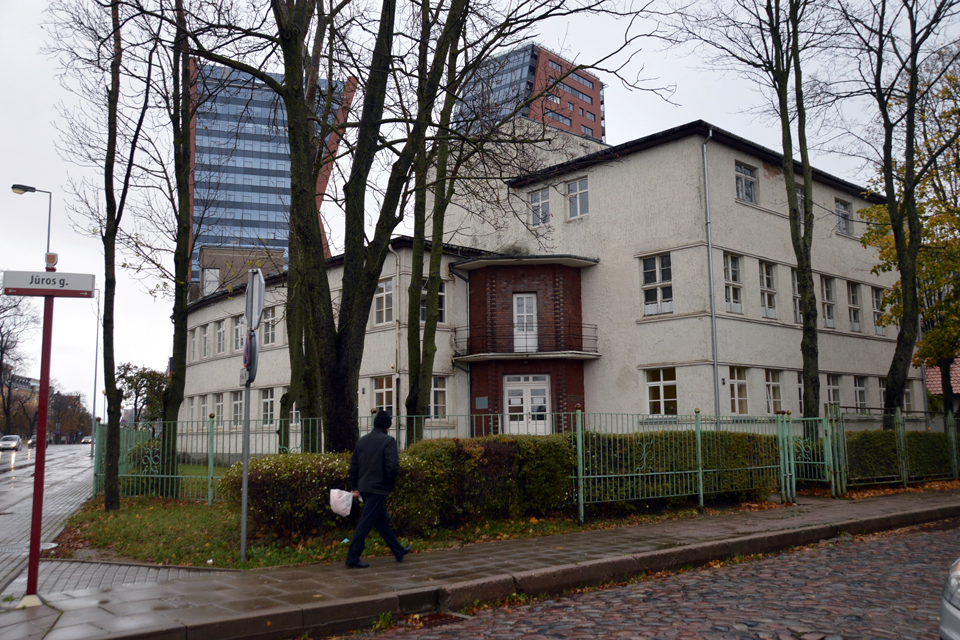 Klaipėdos centre atgims poliklinikos pastatas