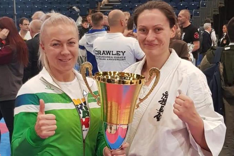 Klaipėdietė – atviro Britanijos čempionato vicečempionė