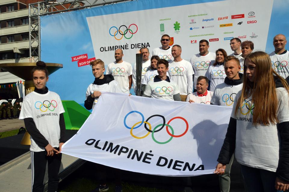 Klaipėdoje – Olimpinė diena