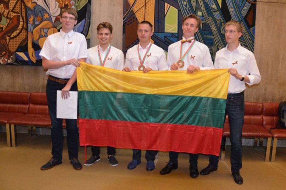 Klaipėdiečiui – tarptautinės fizikos olimpiados bronza