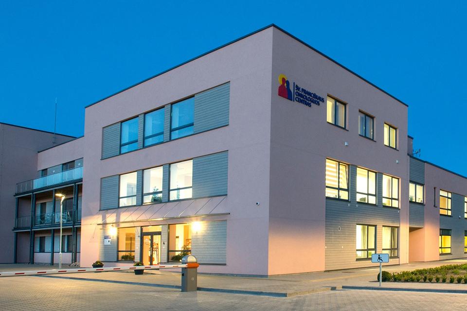 Onkologijos centras Klaipėdoje: nėra nei ligonių, nei darbuotojų