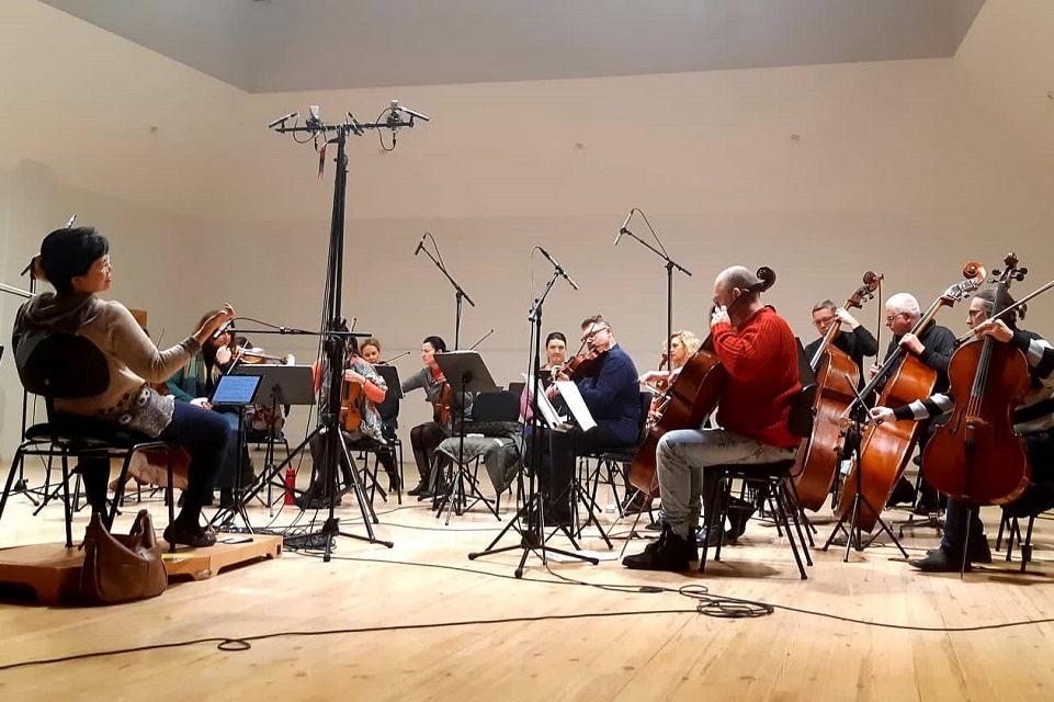 Klaipėdos kamerinis orkestras įrašinėja kompaktinę plokštelę su užsienio muzikais