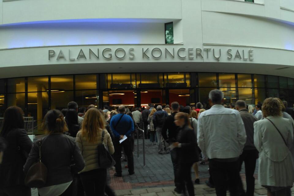 Palangos koncertų salės koncesijos nutraukti nepavyko