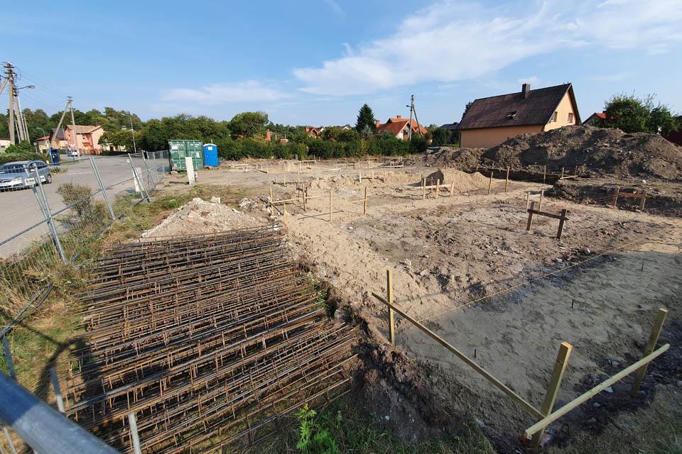 Legendinio Palšmito namo vietoje – du nauji statiniai