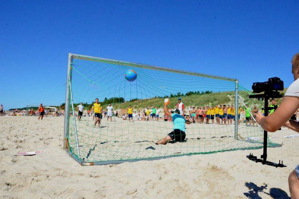 Klaipėdoje – tarptautinis paplūdimio futbolo turnyras