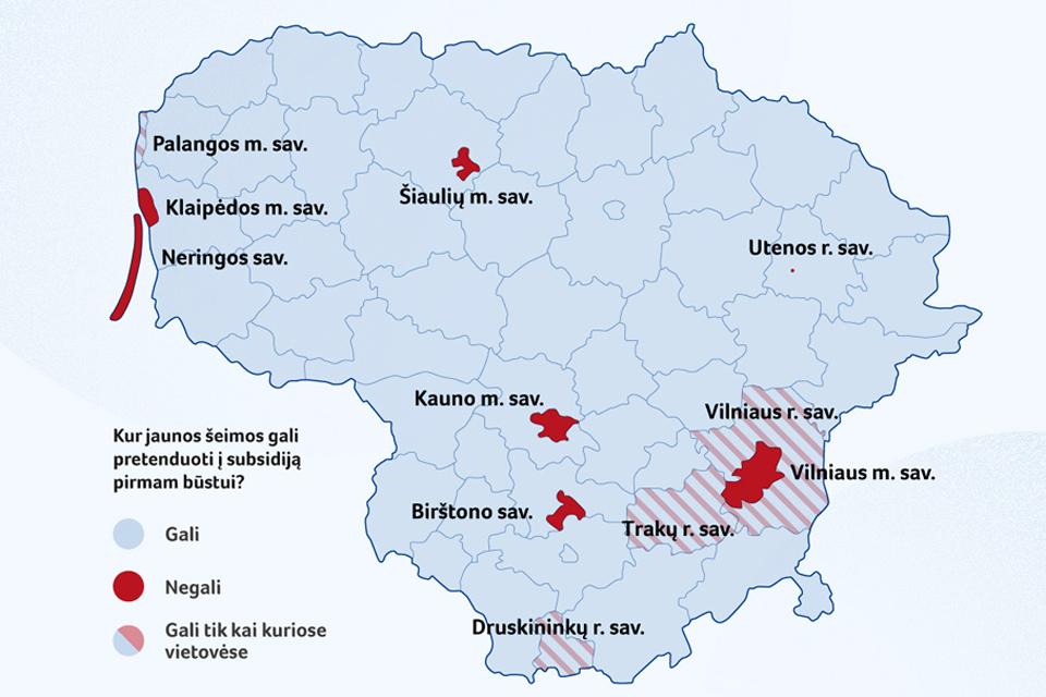 Subsidijų būstui aktyviai prašoma ir Klaipėdos rajone