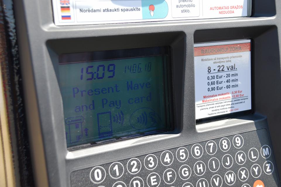 Не забудьте: в Клайпеде появились новые платные зоны для автомобилей
