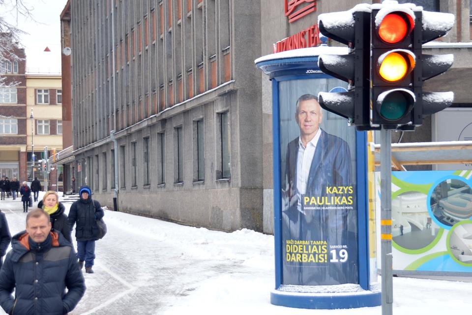 """Mero rinkimai: """"Mano Klaipėda"""" nerems nė vieno kandidato"""