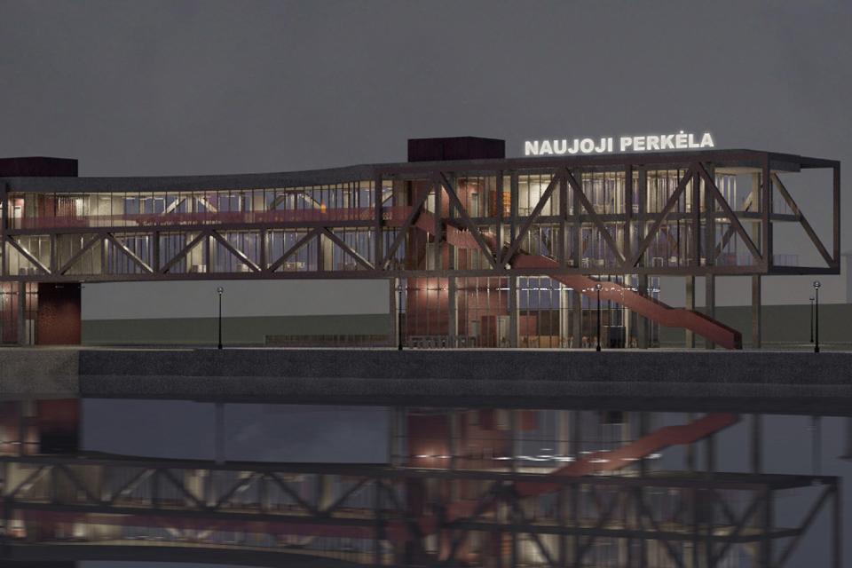 Naujas perkėlos pastatas – po trejų metų