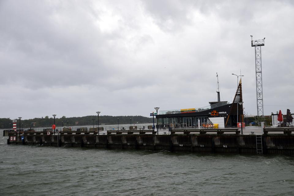 Nebedirba Senoji perkėla, uoste ribojama laivyba