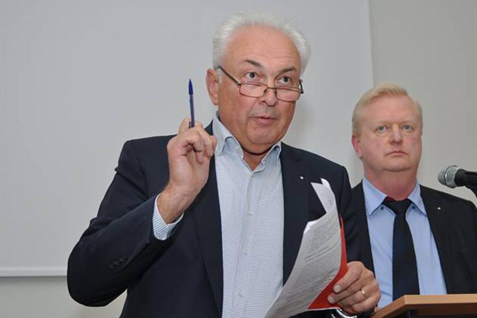 Socialdemokratų kandidatas į merus – Benediktas Petrauskas
