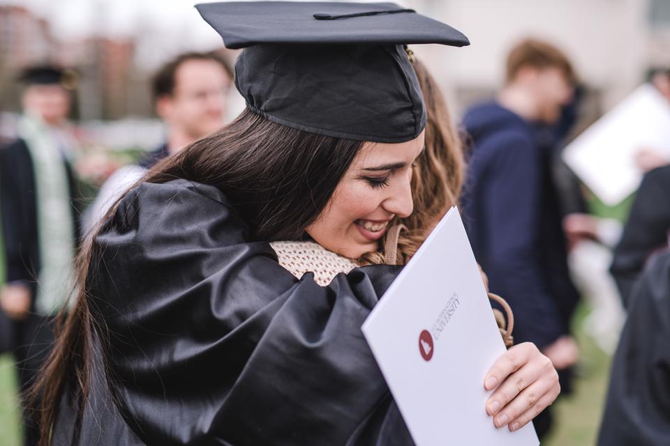 LCC universiteto diplomų įteikimo šventės akimirkos