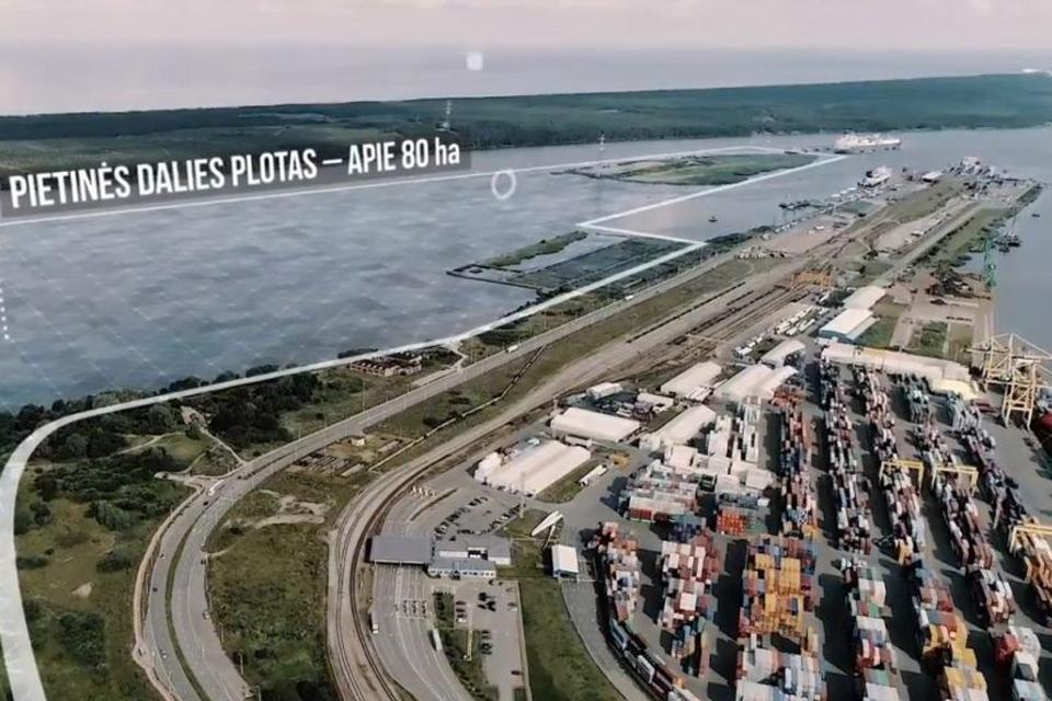 Uosto bendrasis planas: priešinamasi iki galo