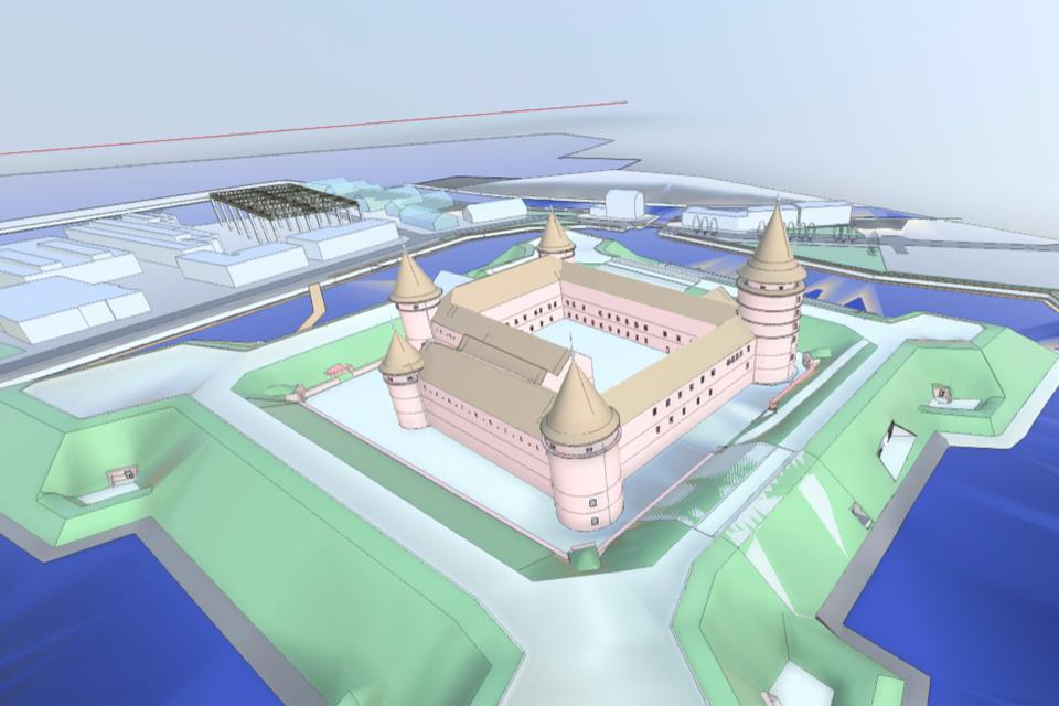 Jau galima pasivaikščioti po Klaipėdos pilį