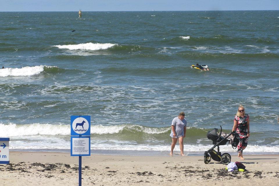 Vasarą Melnragė pasitiks su  daugiau paplūdimių