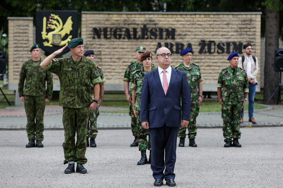 Klaipėdoje – Portugalijos gynybos ministras