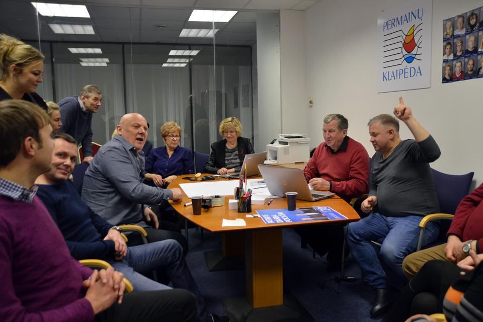 """Audito išvada: """"Už pokyčius Klaipėdoje"""" politinė kampanija skaidri"""