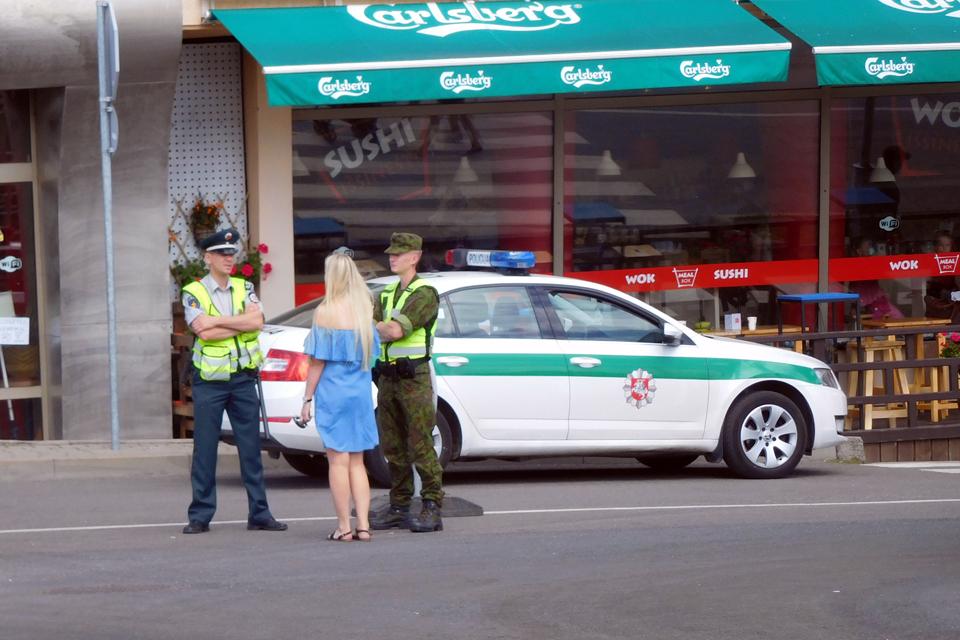 Policija vasaros sezono metu pajūryje sulauks pagalbos