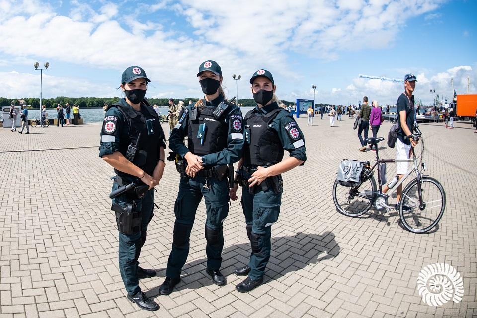Policija: Jūros šventė praėjo ramiai (papildyta)