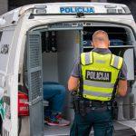 Klaipėdos apskrityje sumažėjo nusikaltimų