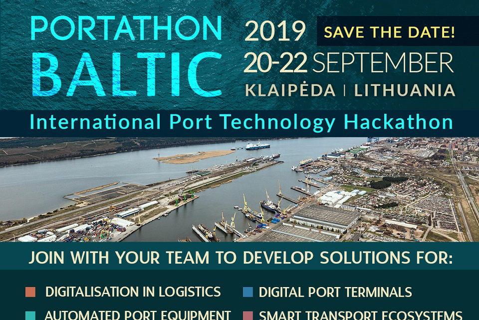 Kviečia registruotis į uosto technologijų hakatoną