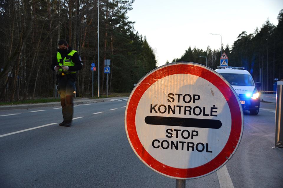 Klaipėdos apskrityje per parą apgręžti 55 automobiliai