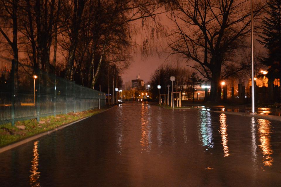 Įspėjimas dėl potvynio: baimė nepasitvirtino