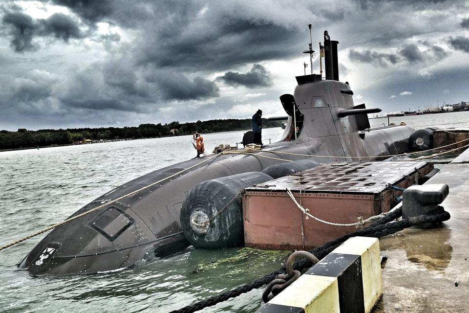 Atvyko Vokietijos povandeninis laivas