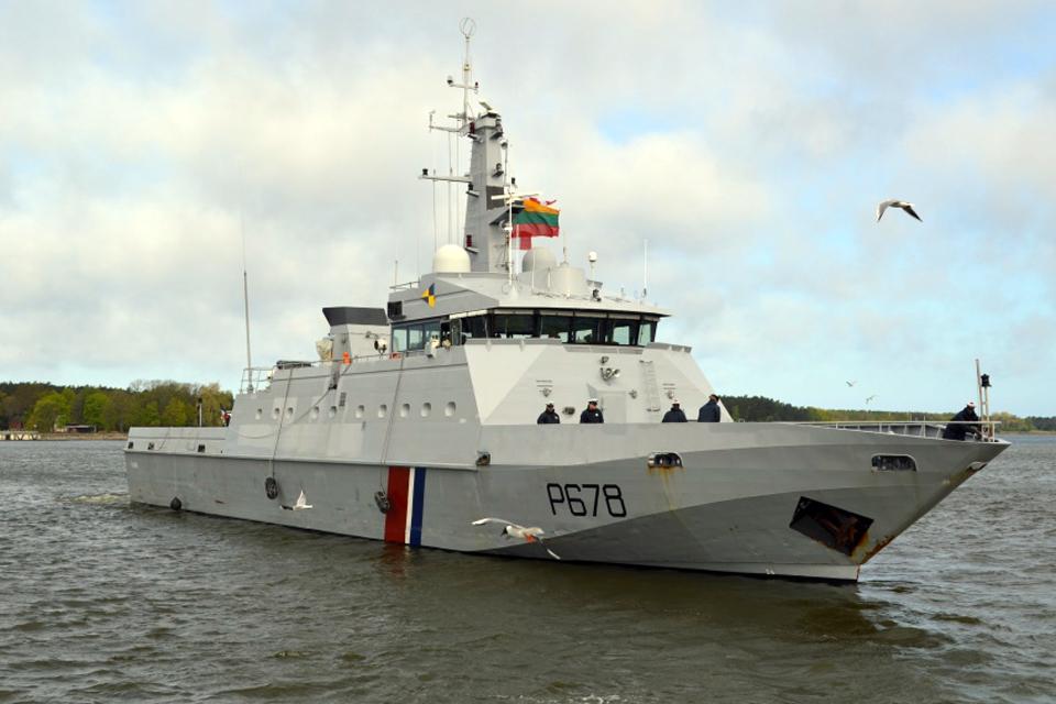 Į Klaipėdą atplaukia Prancūzijos karo laivas