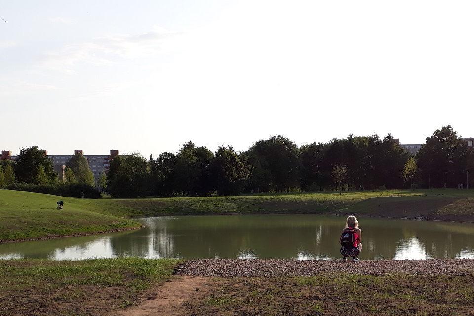 Sutvarkytas dar vienas pietinės Klaipėdos kampelis