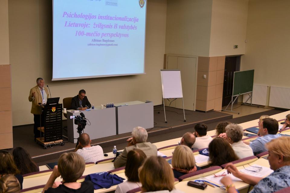 Klaipėdos universitete – Lietuvos psichologų kongresas