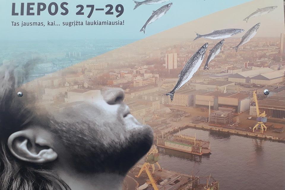 """59-oji Jūros šventė """"raus stogus"""""""