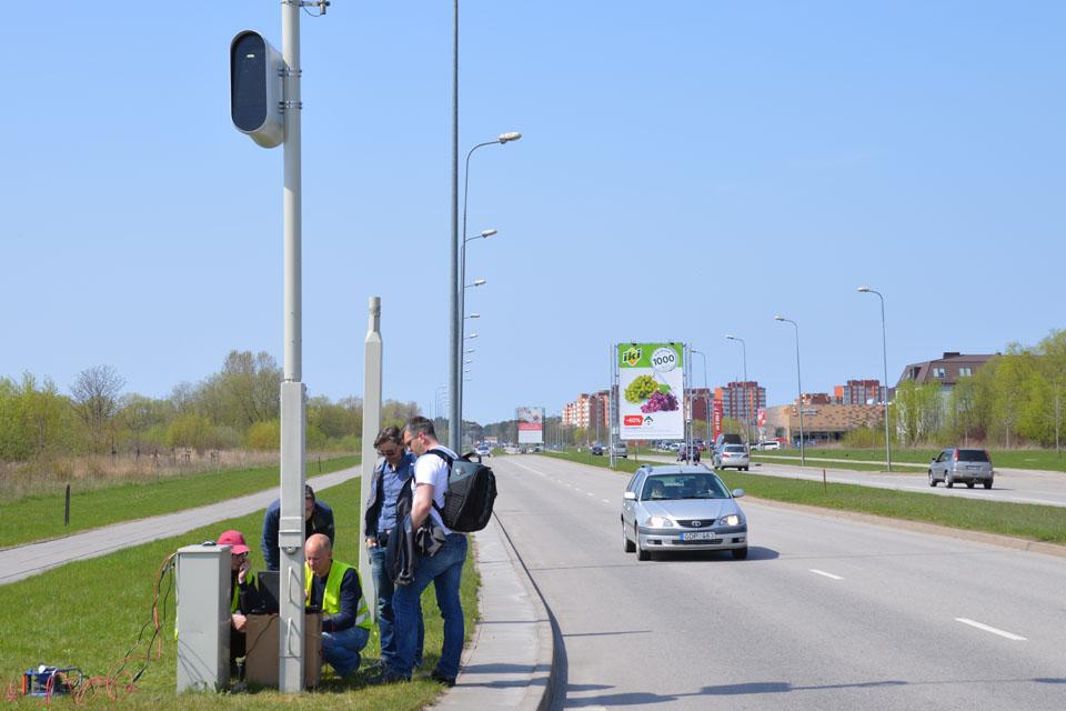 Gatvėse – itin modernūs radarai