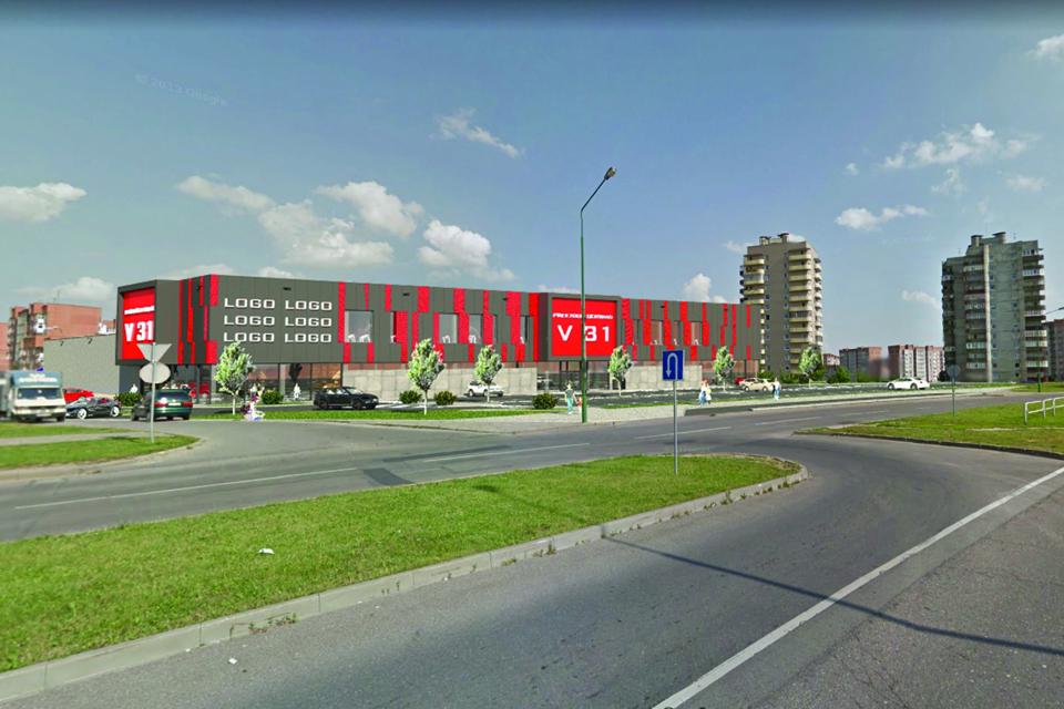 Naujas prekybos ir paslaugų centras gali pradėti kilti jau pavasarį