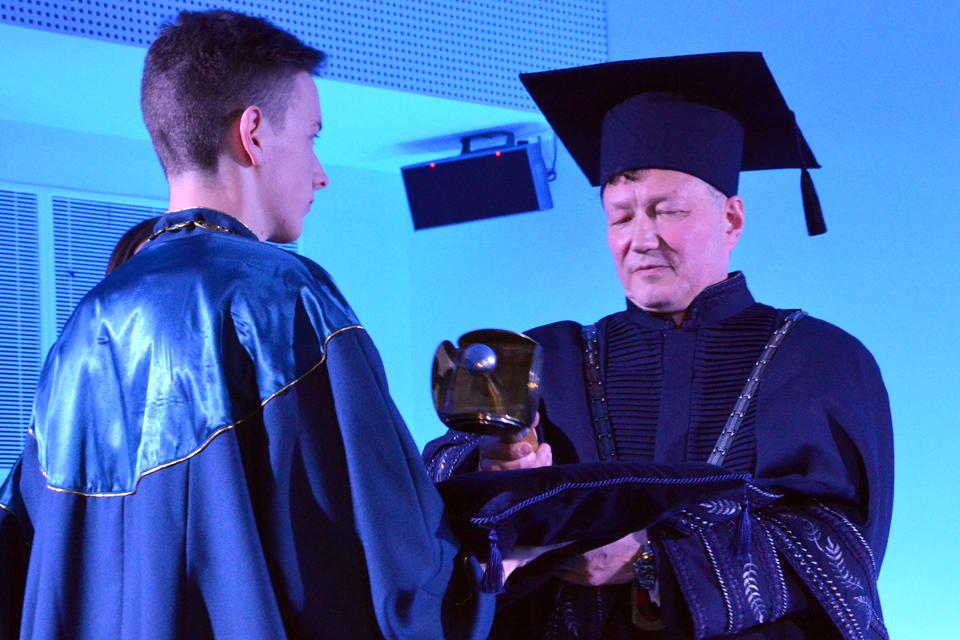 Inauguruotas Klaipėdos universiteto rektorius