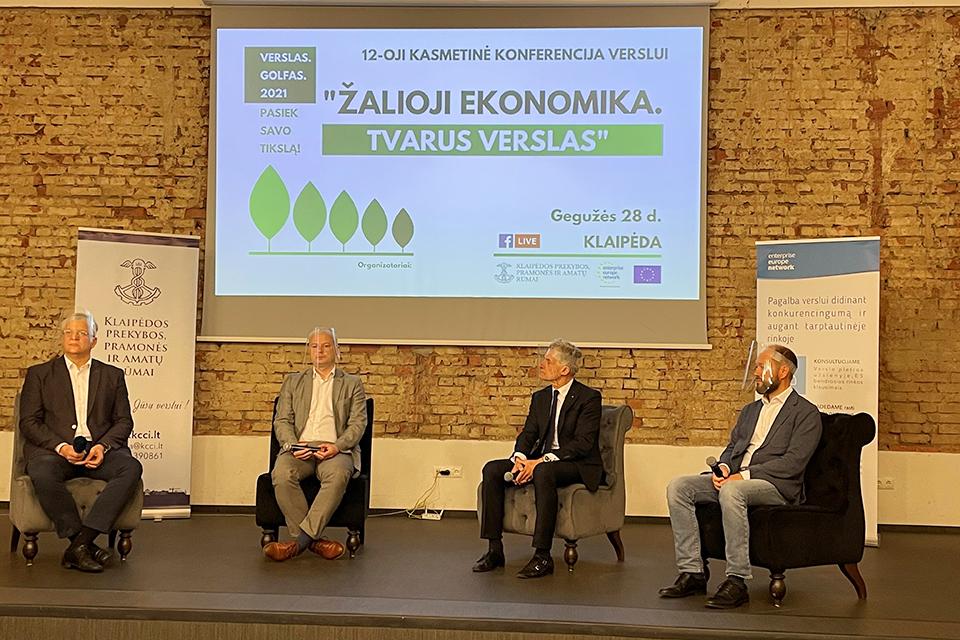 Žalieji tikslai verslo negąsdina