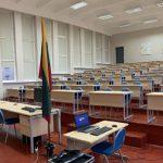 Baudžiamosios bylos nagrinėjimas iš teismo persikėlė į universitetą