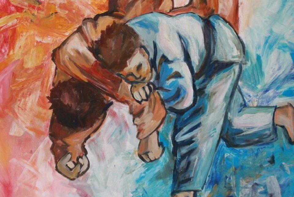 Teismo vitrinoje – meno ir sporto sintezė