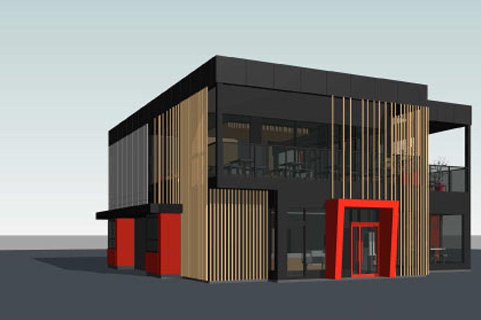 Klaipėdoje planuojama tarptautinio restorano statyba