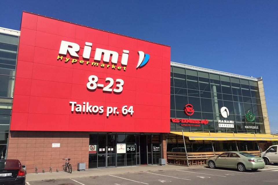 """""""Rimi"""" atidaro prekių atsiėmimo punktus Klaipėdoje"""