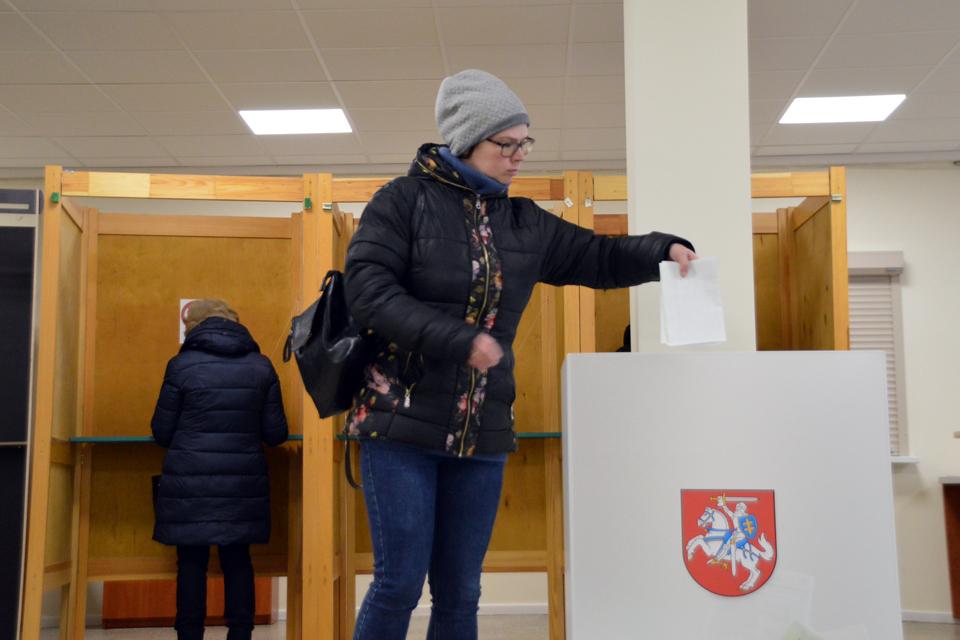 Klaipėdiečiai – tarp pasyviausiai balsavusiųjų