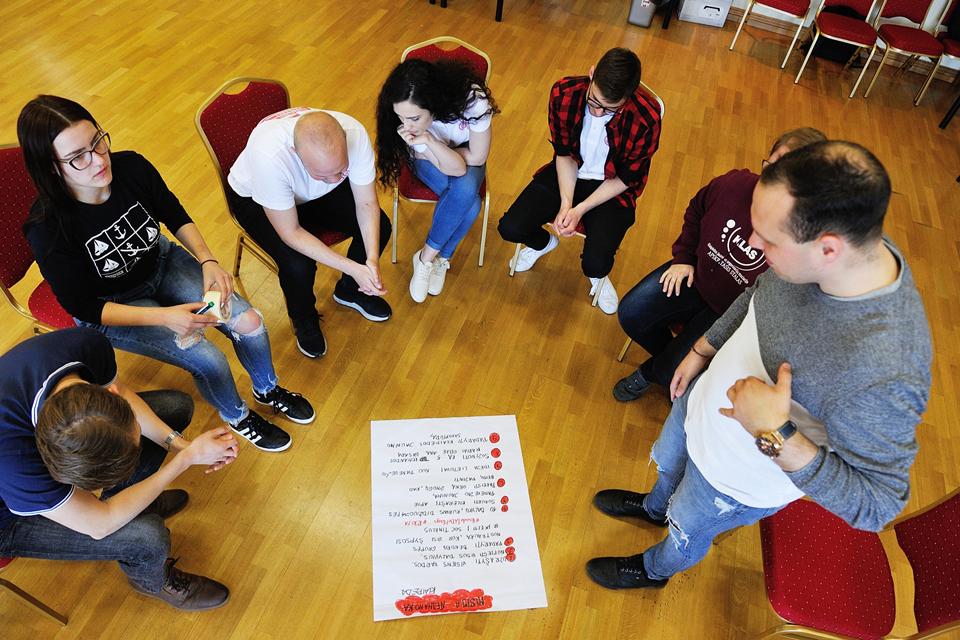 Klaipėdos jaunimas nori būti išgirstas