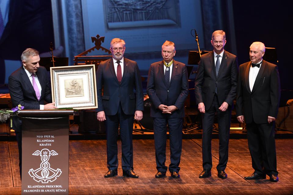 Klaipėdos prekybos, pramonės ir amatų rūmams – 100