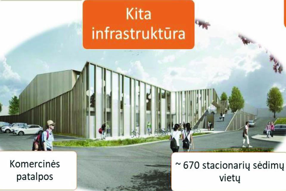 Naujas Klaipėdos sporto kompleksas įstrigo: savivaldybė pasigedo konkurencijos
